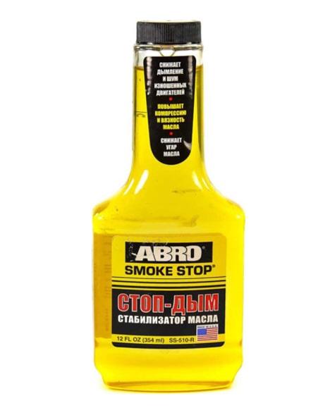 abro Присадка для масла Abro Стоп-дым SS-510 (354мл) SS-510(12)