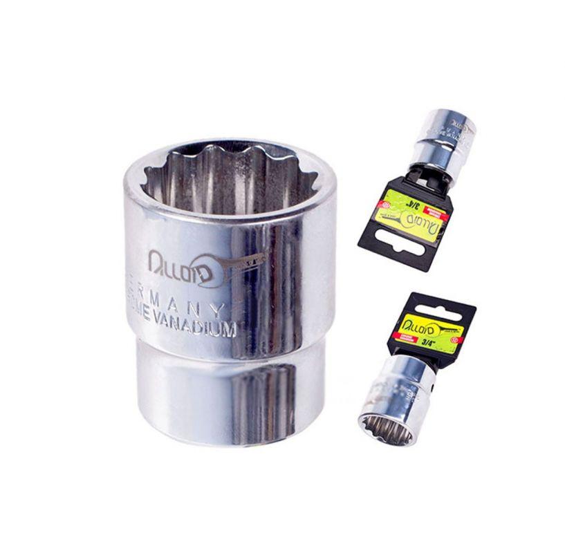 alloid Головка торцевая Alloid 3/4, 12-гр. 19мм (ТГ- 60119M-12) ТГ- 60119M-12 (8/96)