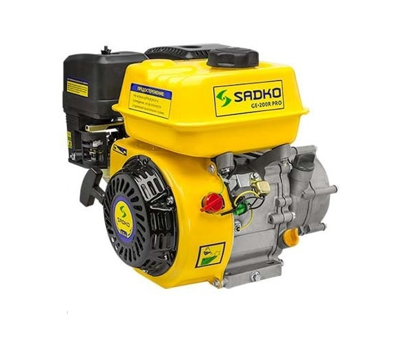 Бензиновый двигатель Sadko GE-200R Pro